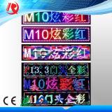 2016 visualizzazione di LED poco costosa della testa del portello di prezzi di nuovo di arrivo M10 di colore completo colore di funzione singolo