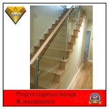 Carril de protector del acero inoxidable para el balcón y la escalera