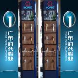 便利な開いた様式のアルミニウムばねのドアのピボットドア
