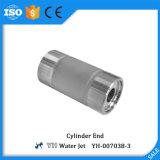 Cilindro de alta pressão da máquina de estaca do jato de água