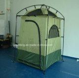 Pólo de aço de acampamento impermeável instala a barraca do chuveiro