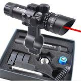 가장 새로운 외부는 빨간 점 Laser 광경 소총 전자총 범위 2 스위치 가로장 마운트를 조정한다