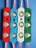 Blanco verde impermeable del módulo de la inyección LED de la fábrica SMD 5730