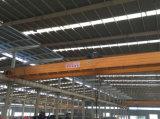 Stahlfabrik-Hebevorrichtung, die doppelten Träger-Brückenkran 15 Tonne 20 Tonne anhebt