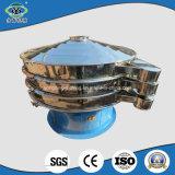 移動式車輪の容易な移動を用いる3段階モーター振動スクリーン機械