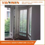 A cortina Venetian de madeira do Basswood Shutters cortinas para Windows