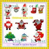 Natal-Presente-Peixe-Forma-USB-Flash quente da venda (GC-S1225)