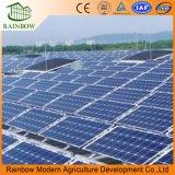 太陽光起電温室