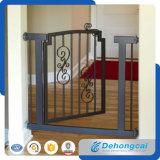 Puerta peatonal al aire libre decorativa del hierro labrado