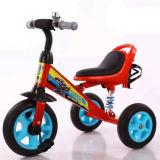 Triciclo de niños suave del asiento de la PU del nuevo diseño con la botella