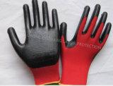 Natrile는 입혔다 장갑 노동 방어적인 안전 일 장갑 (N7003)를