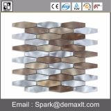 Mosaico de aluminio del metal del color mezclado