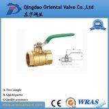 Vávula de bola de cobre amarillo de la salida rápida de la fabricación del surtidor de China 1 - el 1/2 con de calidad superior