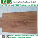 Capa de madera del polvo del final de la textura