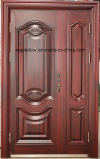 Porta de aço exterior do ferro da melhor segurança do preço (EF-S069)