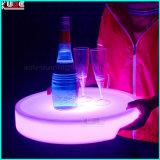 LEDの無線電信はプラスチックワインのフルーツの皿をつける