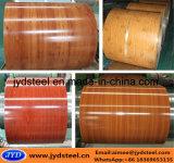 木デザインカラー上塗を施してある鋼鉄Coil/PPGI