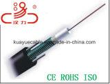 Câble fibre optique 12core du câble GYXTW de transmission
