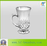 Tasse de bière créatrice de cuvette en verre de bière de personnalité Kb-Hn0327