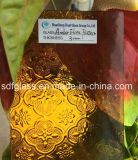 세륨, ISO를 가진 색을 칠한 Flora Patterned Glass (Amber, Blue, Greeen etc.)