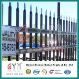 Frontière de sécurité soudée par piquet galvanisée/première frontière de sécurité fer travaillé de lance
