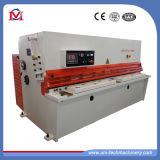 Máquina de corte do feixe hidráulico do balanço da placa de metal (QC12Y-6X3200)