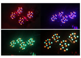 18*1W Plastic Flat LED PAR Lights RGB Stage Light LED PAR