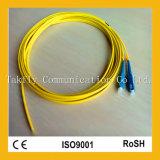 Отрезок провода оптического волокна PVC LSZH Ofnp 0.9mm/2.0mm/3.0mm Sc/LC/FC/St Sm mm Sx Dx