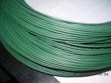 Pvc bedekte de Elektro Gegalvaniseerde Draad van het Ijzer met een laag