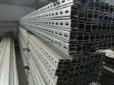 Гальванизированная фотовольтайческая сталь канала c держателя
