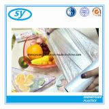 Мешок еды девственницы LDPE материальный ясный пластичный