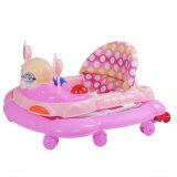 Caminhante barato do bebê das rodas grandes com assento e assento para pés