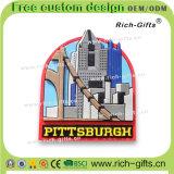 Regalo di promozione con i magneti di gomma molli del frigorifero di disegno del PVC 3D (RC-OT)