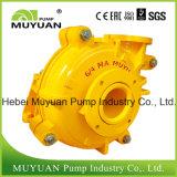 Pompe centrifuge de boue de Fgd d'alimentation horizontale d'hydrocyclone de qualité