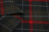 Tela polivinílica/del rayón de la tela escocesa, hilado teñido, 210GSM