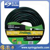 Le plastique vert de PVC a renforcé le jardin/eau/boyau renforcé