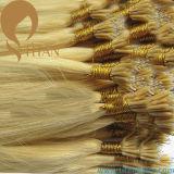 ブラジルの人間のRemyのケラチンの先端のNanoリングの毛の拡張(TT381)