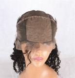 Perucas cheias do laço da parte dianteira da peruca do laço do cabelo humano de 100%