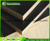 La película Shuttering de la melamina de la venta de China del surtidor 18m m WBP del pegamento del álamo de la base caliente de la madera dura hizo frente a la madera contrachapada para la construcción