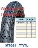 Neumático 110/90-16 de la motocicleta caliente
