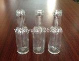 piccola bottiglia di vetro del vino di alta qualità 50ml con con tappo a vite