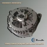カスタムアルミ鋳造のトラックの交流発電機のアルミニウム交流発電機ハウジング
