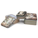 ギフトのパッキングのためのキャンデーチョコレートコーヒー金属の錫ボックス