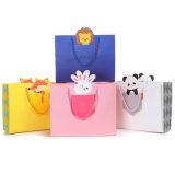 Forma Wrapping Shopping Gift Packing Paper Bag com Ribbon