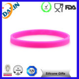 Soem Multicolor Debossed&Embossed Silicone Bracelet für Promotion Gift