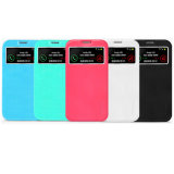 Samsung Galaxy S4를 위한 Zifriend S-View Leather Cases