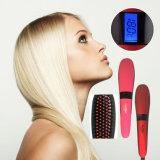 Beautystar la spazzola elettrica del raddrizzatore dei capelli dell'affissione a cristalli liquidi della generazione 3