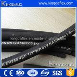 Manguera de goma flexible En856 4SH 4SP manguera de alta presión y alta temperatura