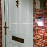 بيضاء [لد] خارجيّة حديقة جدار أمن [موأيشن سنسر] شمعيّة جدار أضواء مع [موأيشن سنسر]