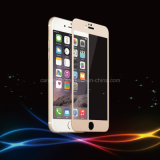 Titanrand-ausgeglichenes Glas-Bildschirm-Schoner-Telefon-Zubehör der legierungs-3D mit schützendem Film für iPhone 6